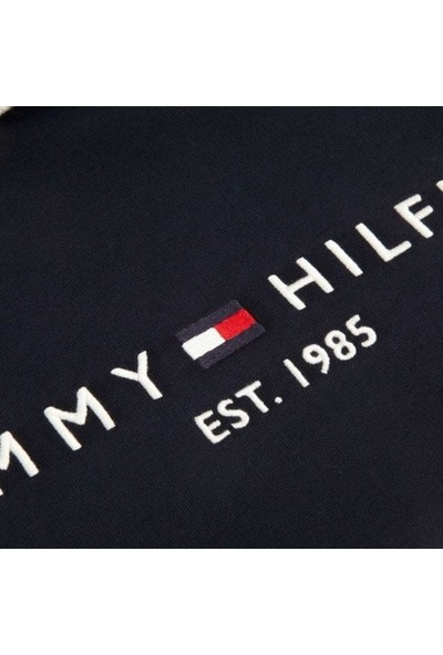 Tommy Hılfıger Erkek Sweatshirt MW0MW10752-BAS