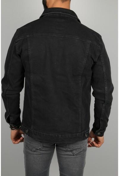 Frankness Jeans A228 Kot Jacket Koyu Gri Yeni Sezon