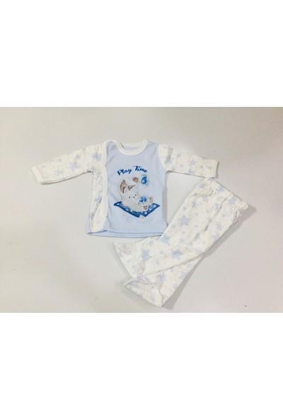 Rapapa Erkek Bebe 2'li Zıbın Takımı 2025-