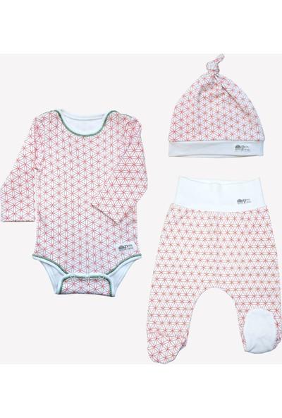 Ozmoz Özel Koleksiyon Annapurna Hediyelik Organik Bebek Takım - Beyaz