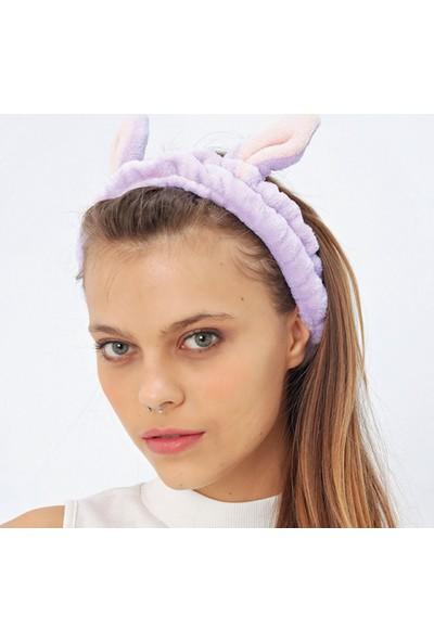 Ecrou Tavşan Kulaklı Saç Bandı