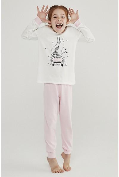 Penti Çok Renkli Kız Çocuk Cute Dog 4'lü Pijama Takımı