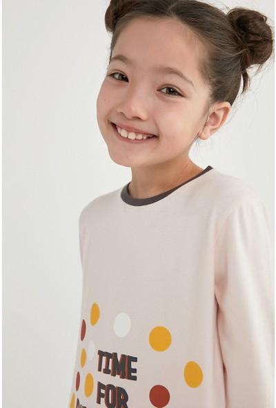Penti Çok Renkli Kız Çocuk Confettı Termal 2li Pijama Takımı