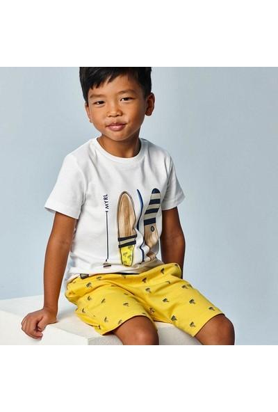Mayoral Erkek Çocuk Baskılı Tişört Şort Takımı 3638