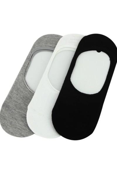 SRC 6 Adet Silikonlu Kaymaz Babet Çarık Çorap