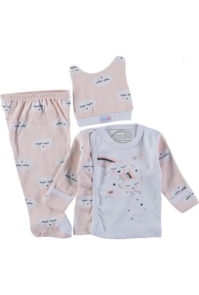 Baby Bakkal 3 Parçadan Oluşan Bebek Takımı