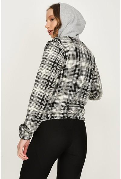 Select Kadın Kapüşonlu Ceket S052/1601/008 34