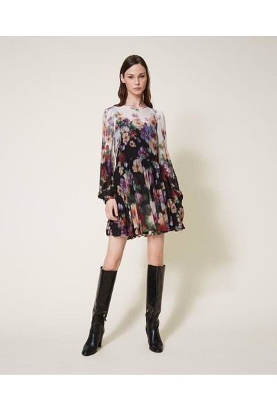 Twın Set-Kadın-Woven DRESS-202TT2381