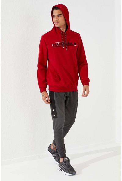 Tommy Life Erkek Kapüşonlu Sweatshirt