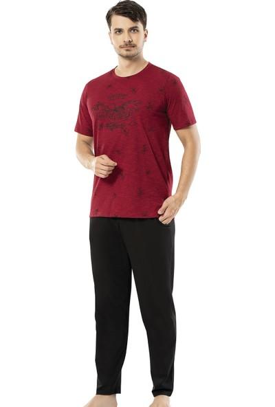 Erdem Erkek 3'lü Yazlık Pijama Takımı