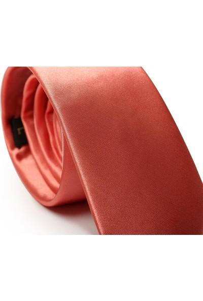 İlhan Işık Erkek Nokta Desenli Saten Takım Elbise Kravatı