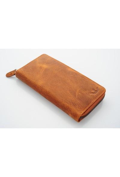 Mascard Royal Plus Taba Telefon Cüzdanı Potrföy Cüzdan