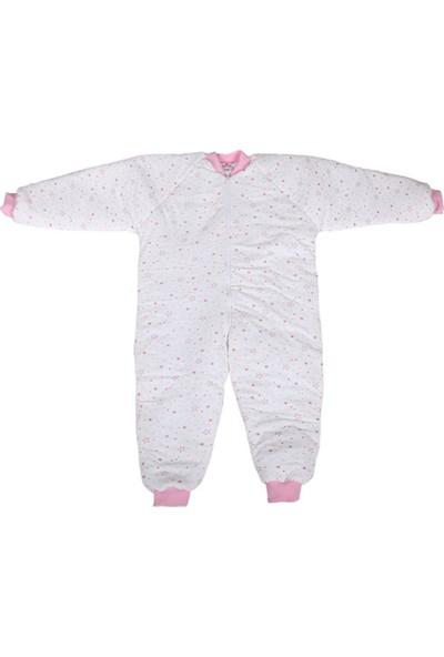 Özlem Bebe Pembe Ara Dolgu Uyku Tulumu