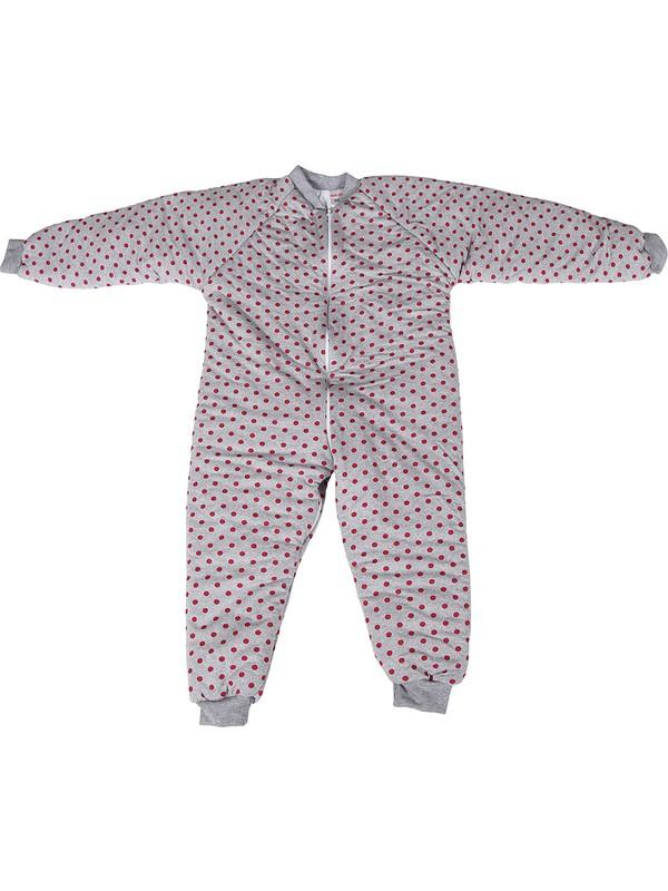 Özlem Bebe 7-12 Yaş Arası Ara Dolgu Puantiyeli Uyku Tulumu