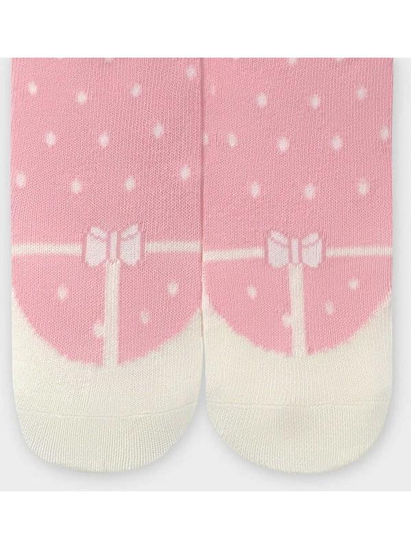 Mayoral Kız Bebek Babetli Çorap Gül 10827