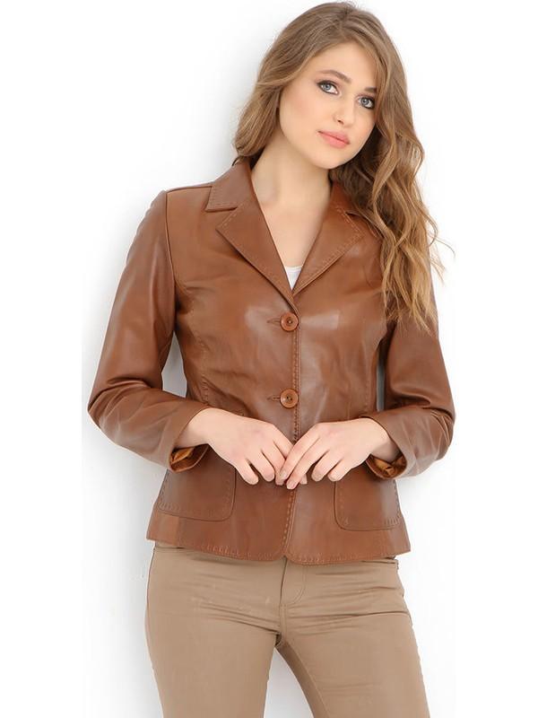 Dericlub YB-358 Deri Kadın Ceket