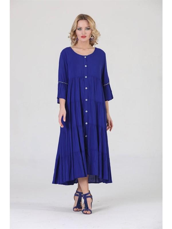 Şık Stil Otantik Bohem Elbise