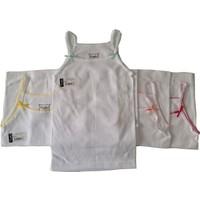 Tutku Kız Çocuk İp Askılı Gökkuşağı Atlet 3'lü Paket