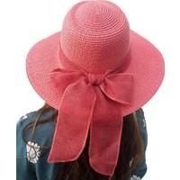 Shecco&Babba Geniş Kenar Kadın Hasır Şapka