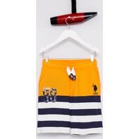 U.S. Polo Assn. Erkek Çocuk Braun Şort Turuncu