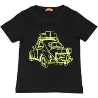 Karamela Çocuk T-shirt Woswos Siyah