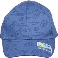 Tuc Tuc Siperli Şapka Blue Coast Azul Lacivert Desenli
