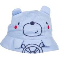 Tuc Tuc Ayıcık Figürlü Şapka Umbrella Mavi