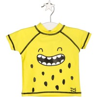 Tuc Tuc Çocuk UV Korumalı T-shirt Mayo Crazy Lemons Sarı