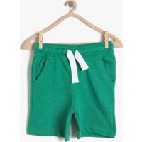 Koton Erkek Çocuk Cep Detaylı Şort Yeşil