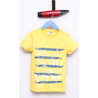 U.S. Polo Assn. Erkek Çocuk Sergio T-Shirt Sarı