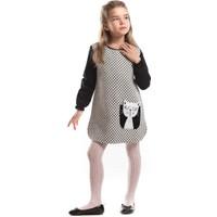 Mushi Minnoş Puantiyeli Elbise