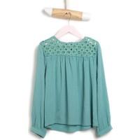 U.S. Polo Assn. Crochet Kız Çocuk Gömlek Mint
