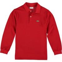 Lacoste Erkek Çocuk Polo Yaka Sweatshirt Kırmızı PJ8915.240