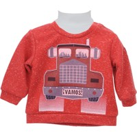 Zeyland Erkek Çocuk Kırmızı Sweat Shirt 72Z1Asf63