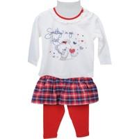 Zeyland Kız Çocuk Ekru Bluz + Tayt Takım 72Z2Imc77