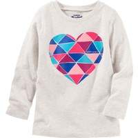 Oshkosh Küçük Kız Çocuk Uzun Kollu Sweatshirt 22342011