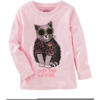 Oshkosh Küçük Kız Çocuk Uzun Kollu Sweatshirt 22342018