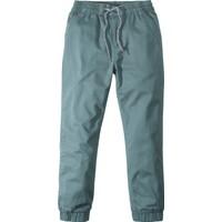 John Baner Jeanswear Erkek Çocuk Yeşil Pamuk Astarlı Rahat Termal Pantolon