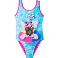 Bpc Bonprix Collection Mavi Kız Çocuk Mayo