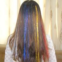 Modamarka-Shop Hair Tinsel Karışık Renkli Çıtçıtlı