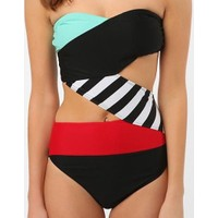 Volcom Be Bold One Piece Mlt Mayokini