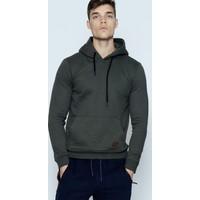 Phazz Brand Haki Erkek Kapüşonlu SweaTshirt