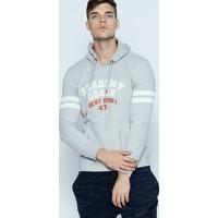 Phazz Brand Gri Erkek Kapüşonlu SweaTshirt