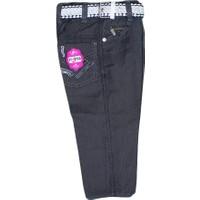 Özaytaç Ö-705 Çizgili Kuşgözü Pantolon Füme
