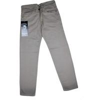Özaytaç Ö-8010-8 Zinger Renkli Keten PantolonKahverengi