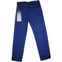 Özaytaç Ö-8010-8 Renkli Keten Pantolon Saks