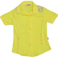 Polat P-4366 Kız Gömlek Sarı
