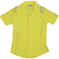 Polat P-5466 Kız Gömlek Sarı