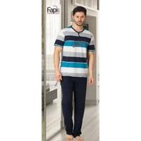 Fapi 2209 Erkek Pijama Takımı Mavi