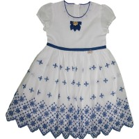 Lilax Vual Kumaş Kız Çocuk Jile Elbise
